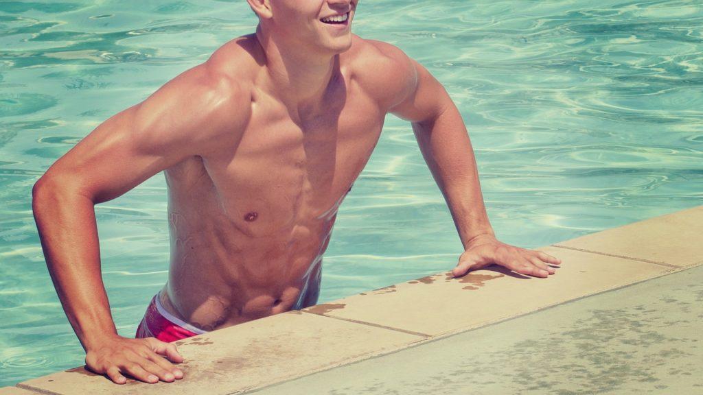 恵比寿でパーソナルトレーニングを受けてかっこいい体になった男性