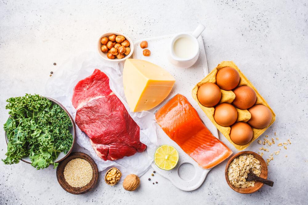 タンパク質とBCAAを豊富に含む食材