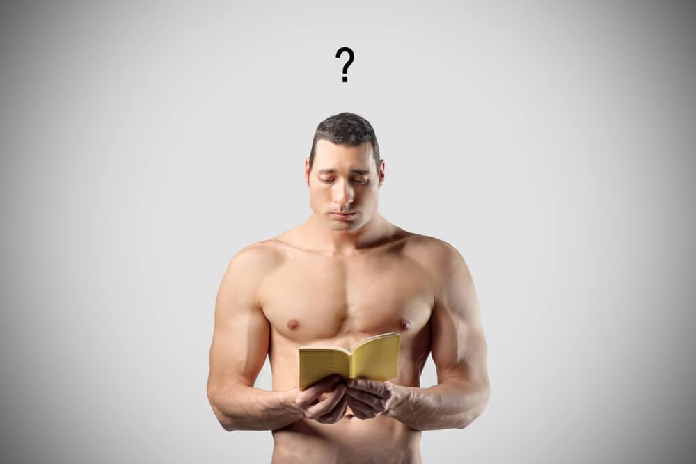 HMBと他のサプリメントの違いに疑問を持つ男性