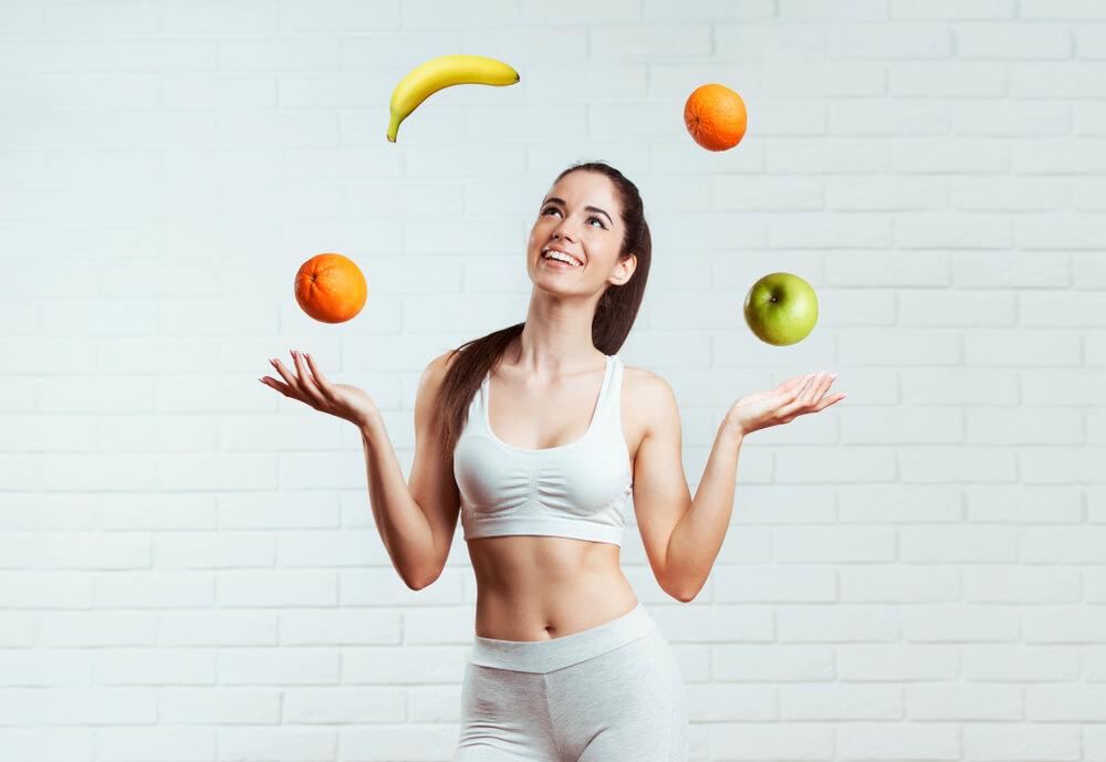筋肉量を維持しつつ体脂肪率を落とすことに成功した女性